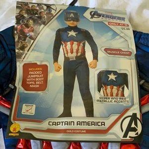 NWT Marvel Avengers Captain America Costume